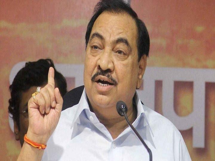 महाराष्ट्र बीजेपी के बड़े नेता एकनाथ खड़से ने इस्तीफा दिया, लंबे समय से पार्टी से थे नाराज